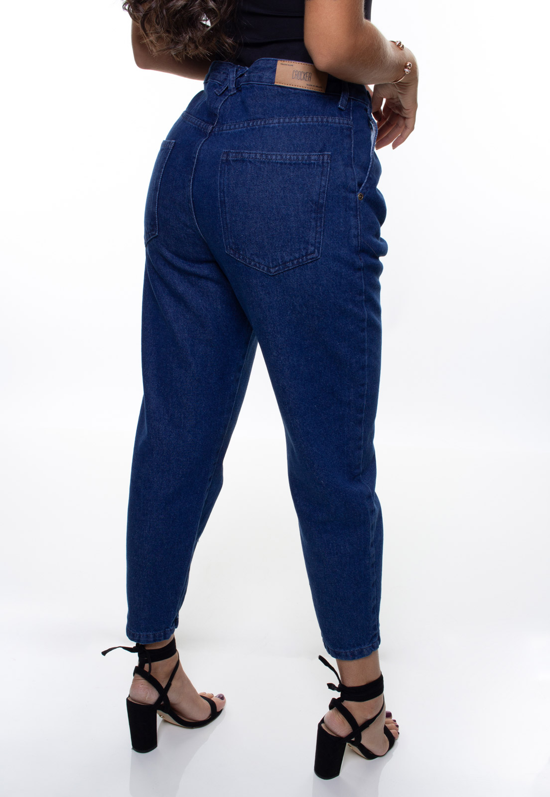 Calça Mom Fit Jeans Feminina Crocker - 48045  - CROCKER JEANS