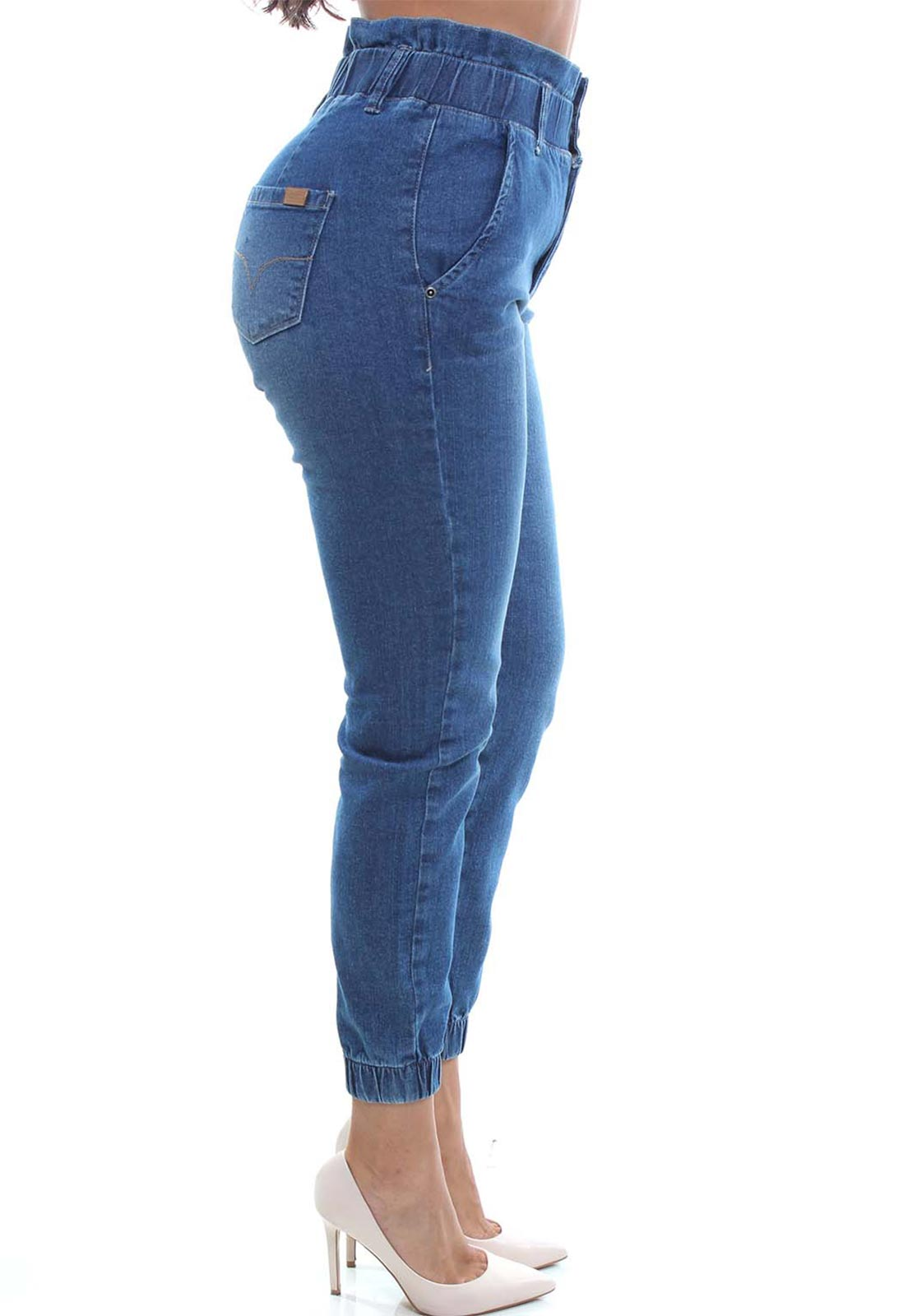 Calça Mom Fit Jeans Feminina Crocker - 48046  - CROCKER JEANS