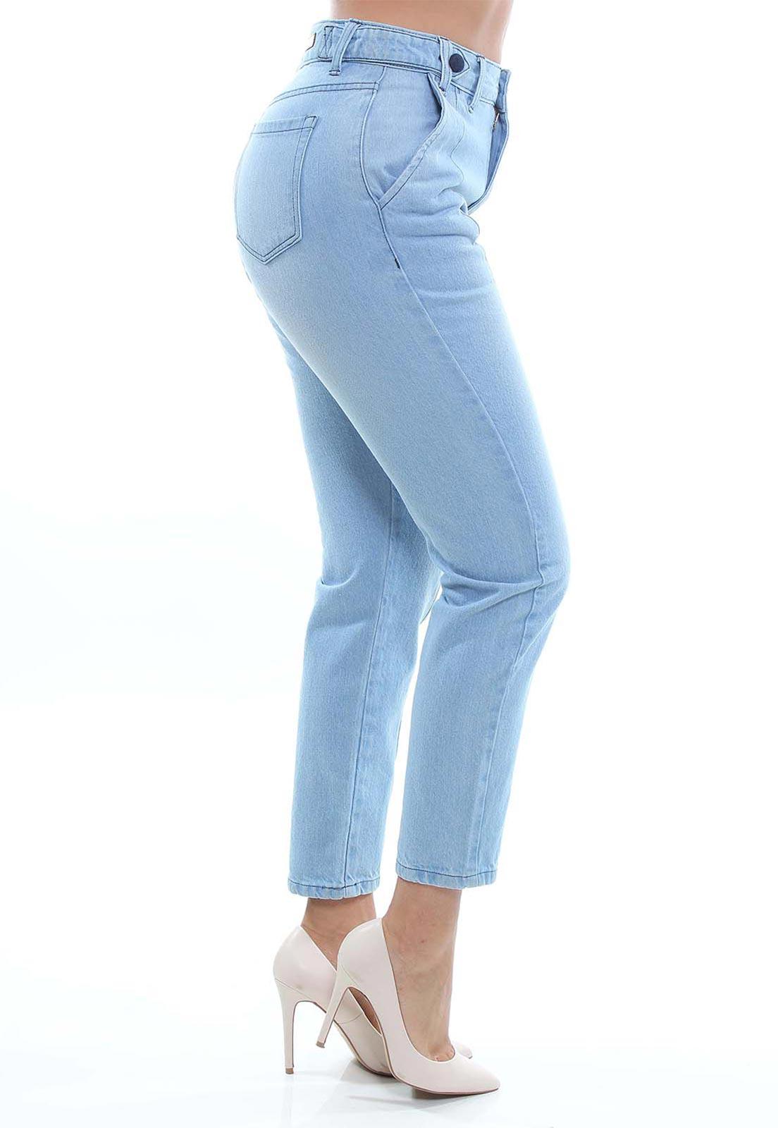 Calça Mom Fit Jeans Feminina Crocker - 48048  - CROCKER JEANS