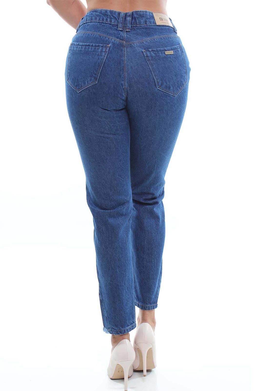 Calça Mom Fit Jeans Feminina Crocker - 48060  - CROCKER JEANS