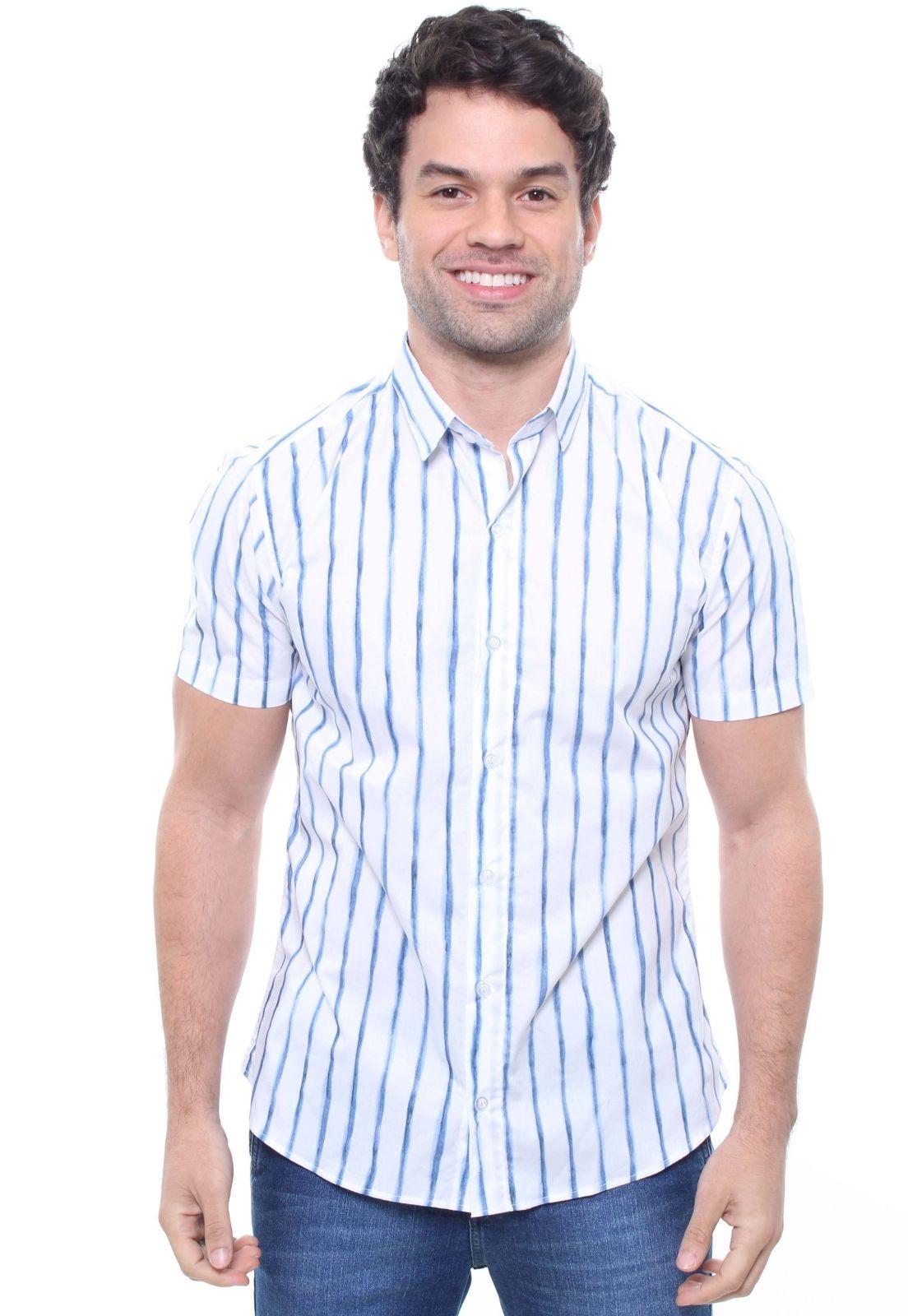 Camisa Estampada Masculina Manga Curta Crocker - 47828  - CROCKER JEANS