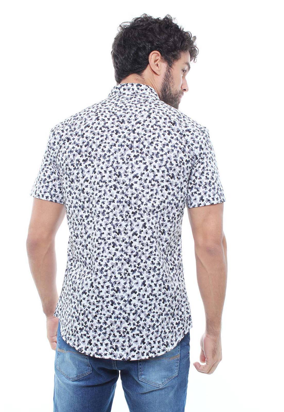 Camisa Estampada Masculina Manga Curta Crocker - 47931  - CROCKER JEANS