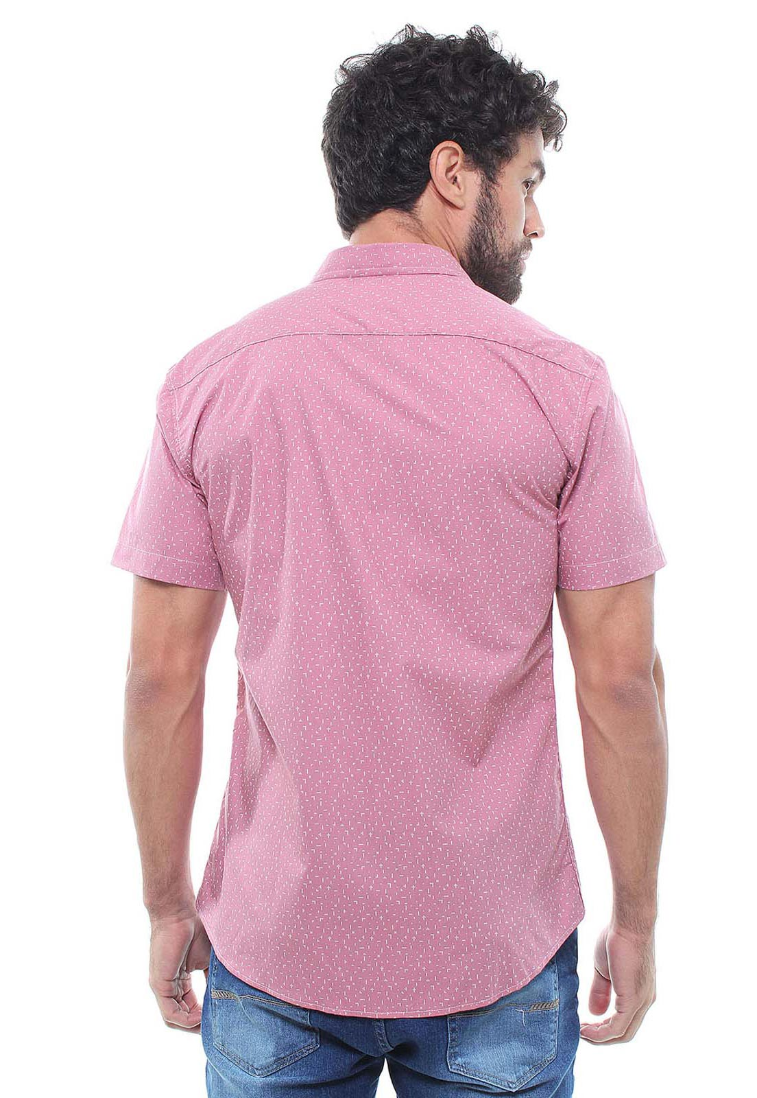 Camisa Estampada Masculina Manga Curta Crocker - 47937  - CROCKER JEANS