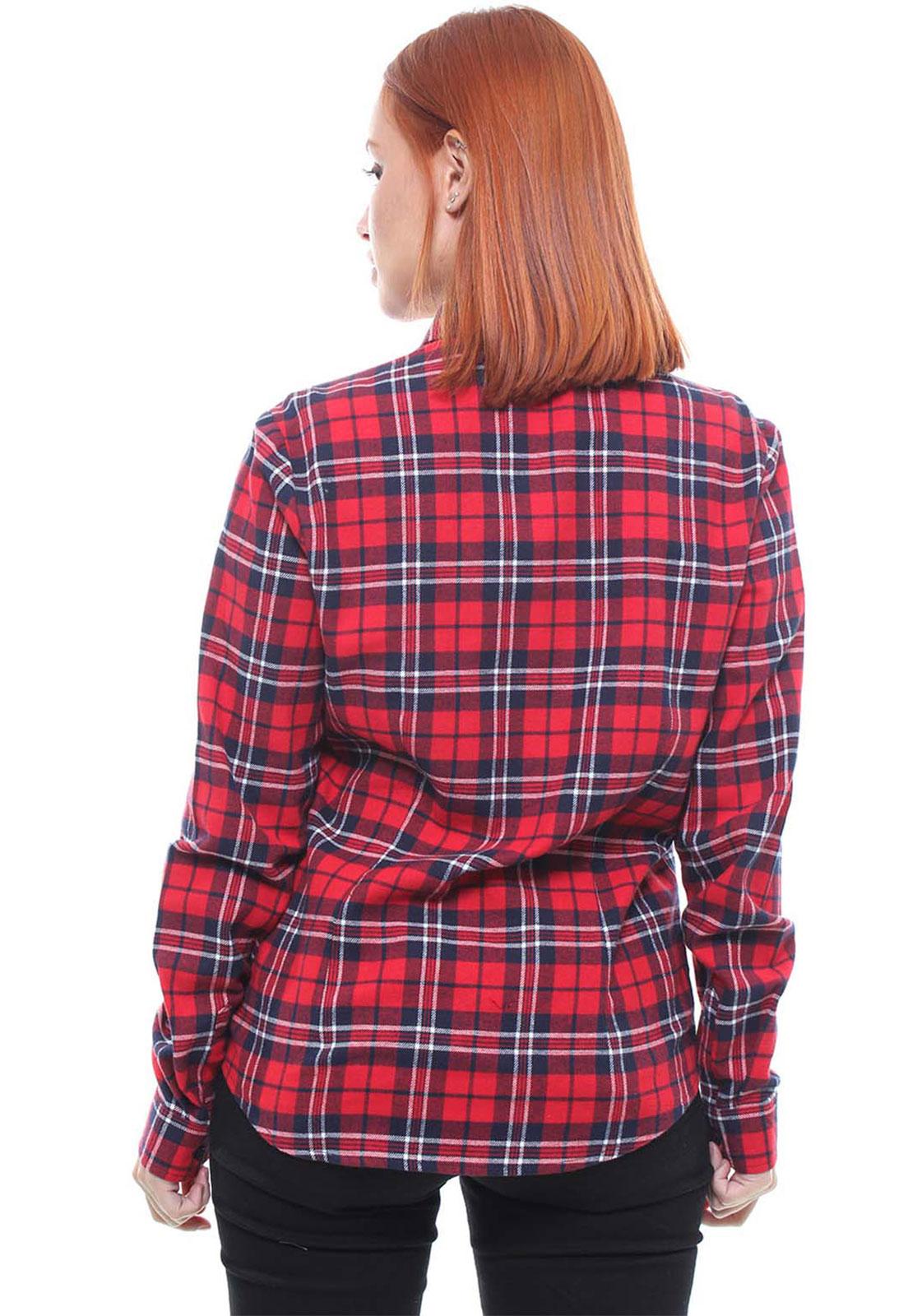 Camisa Feminina Xadrez Flanelada Crocker - 47345  - CROCKER JEANS