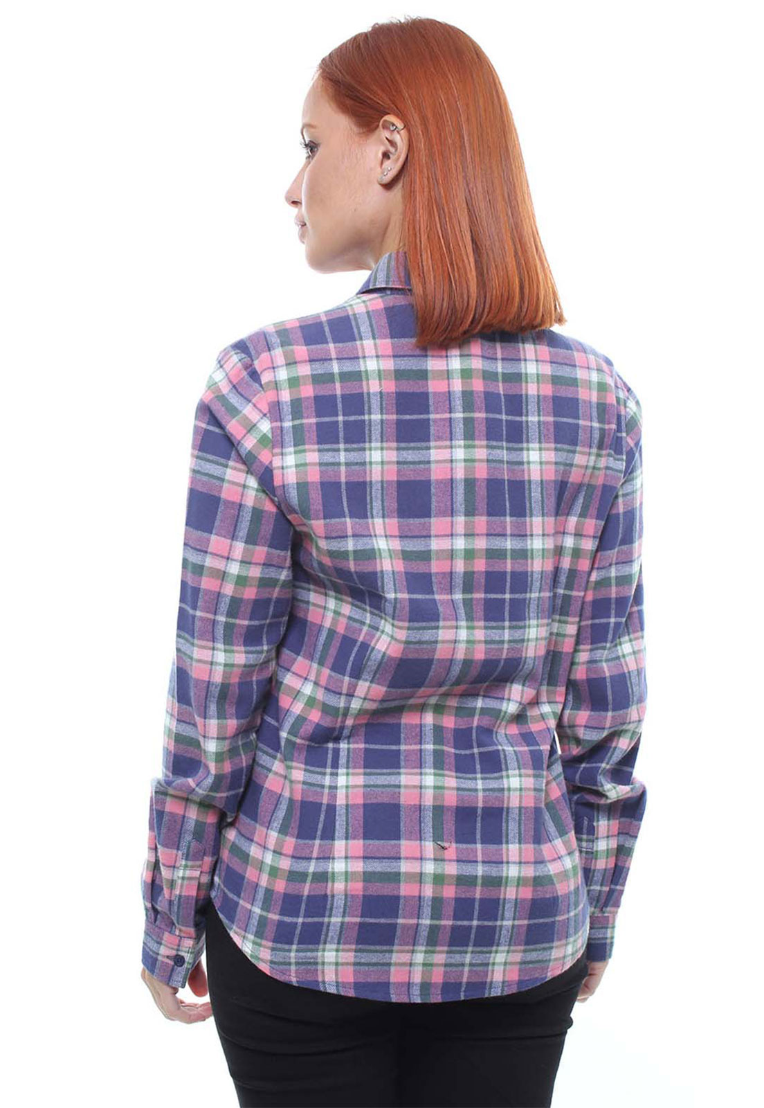 Camisa Feminina Xadrez Flanelada Crocker - 47390  - CROCKER JEANS