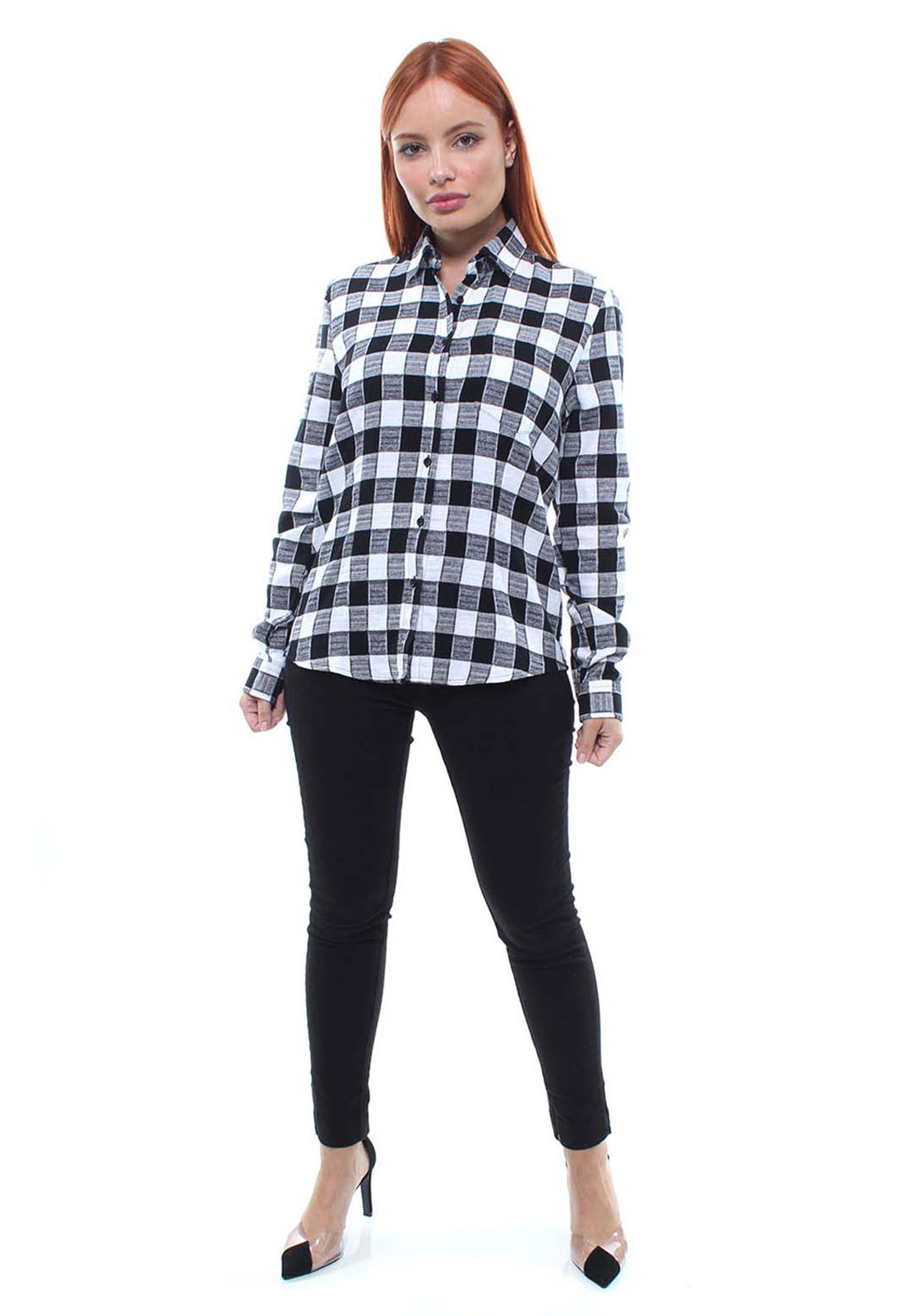 Camisa Feminina Xadrez Flanelada Crocker - 47391  - CROCKER JEANS