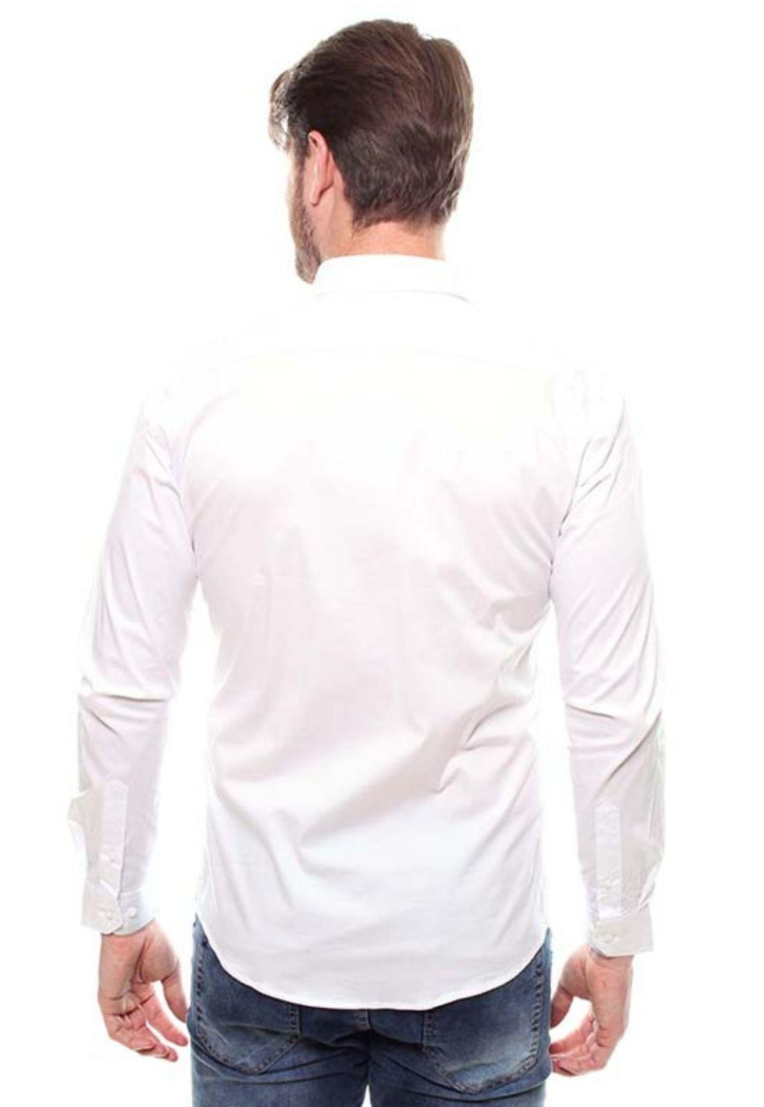 Camisa Fit Masculina Manga Longa Crocker - 45649  - CROCKER JEANS