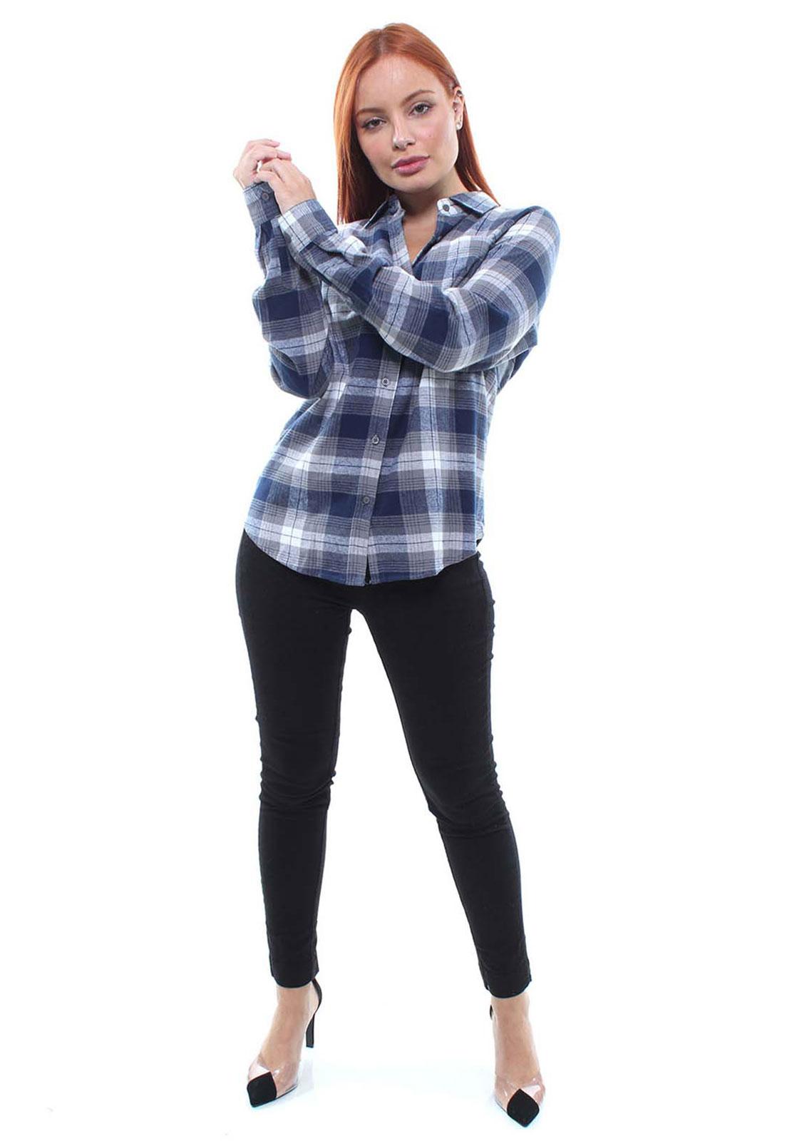 Camisa Feminina Xadrez Flanelada Crocker - 46893  - CROCKER JEANS