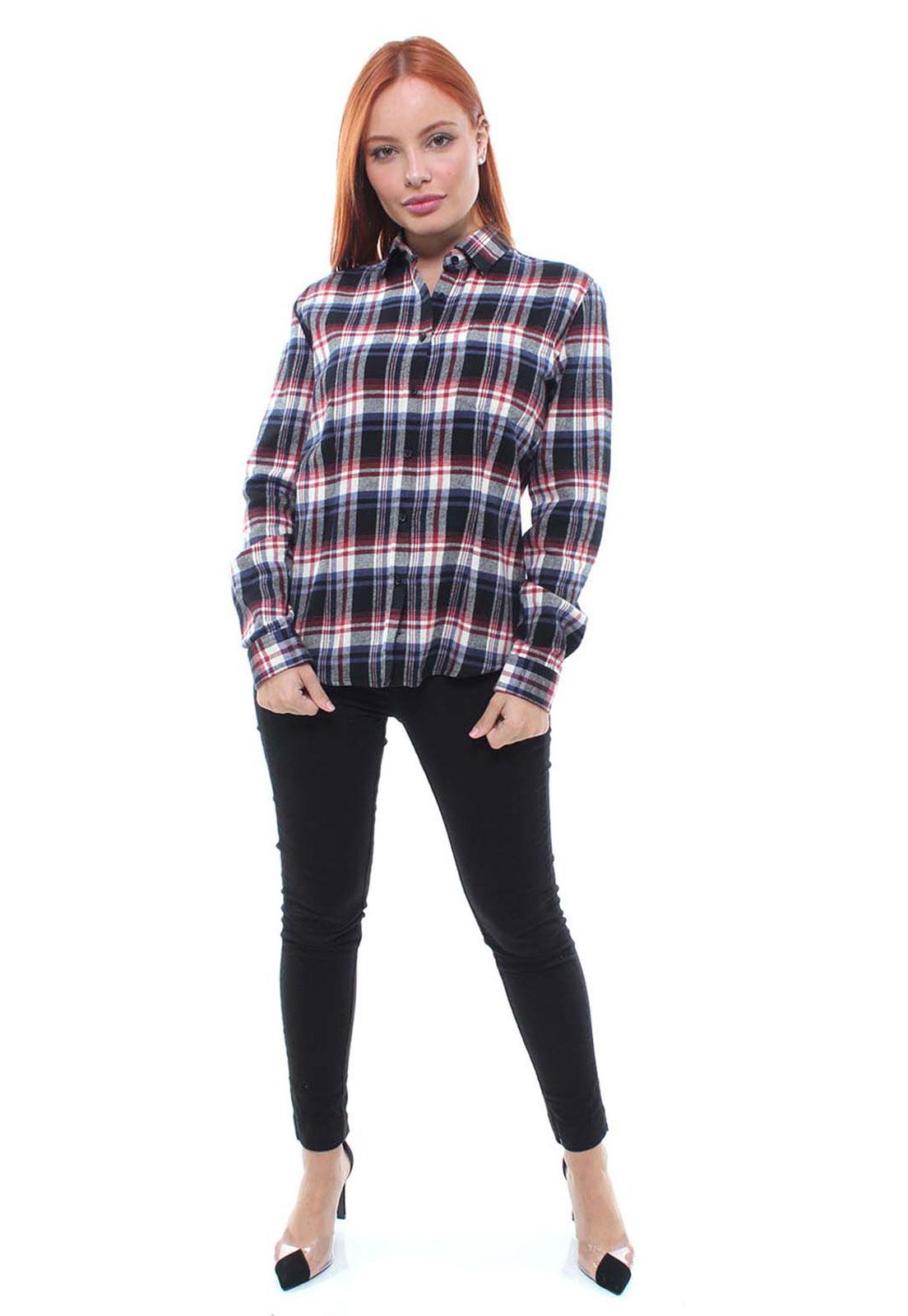 Camisa Flanelada Crocker - 47392  - CROCKER JEANS