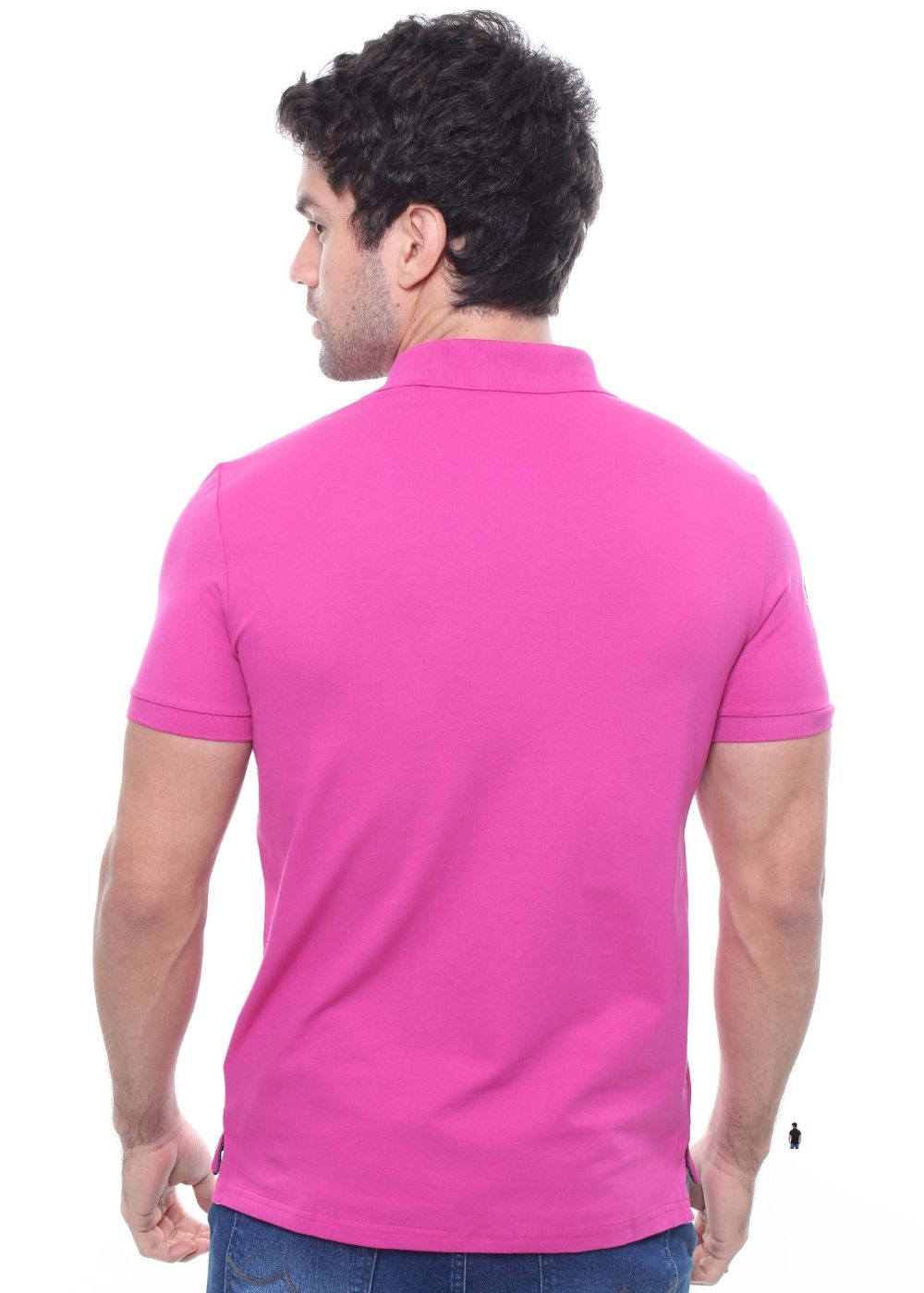Camisa Gola Polo Piquet Bordada Crocker - 47173  - CROCKER JEANS