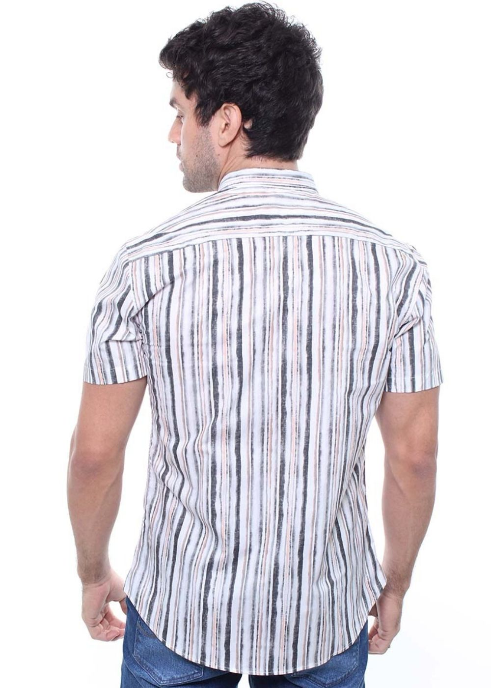Camisa Estampada Masculina Manga Curta Crocker - 47829  - CROCKER JEANS