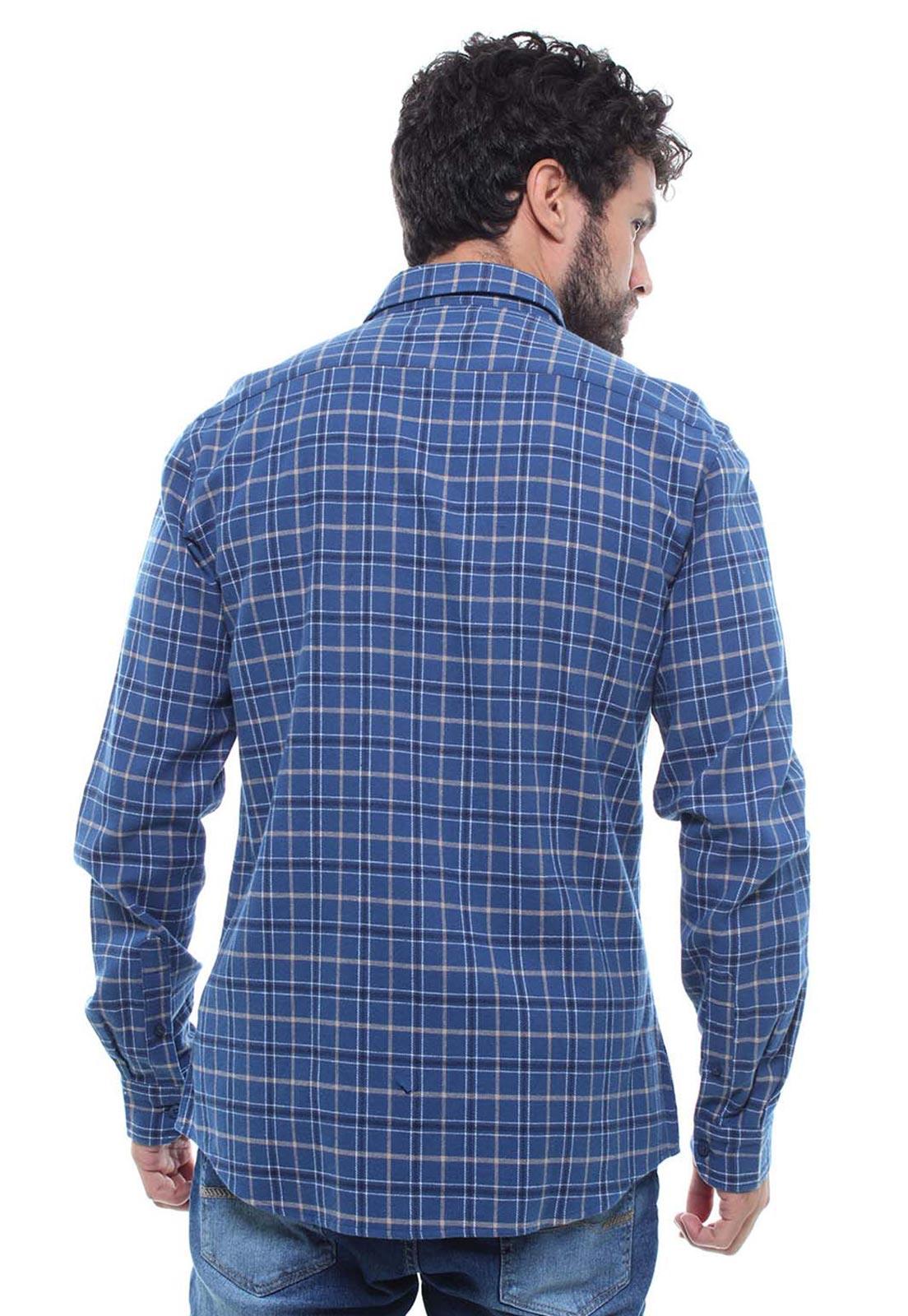 Camisa Xadrez Masculina Flanelada Manga Longa Crocker - 46888  - CROCKER JEANS