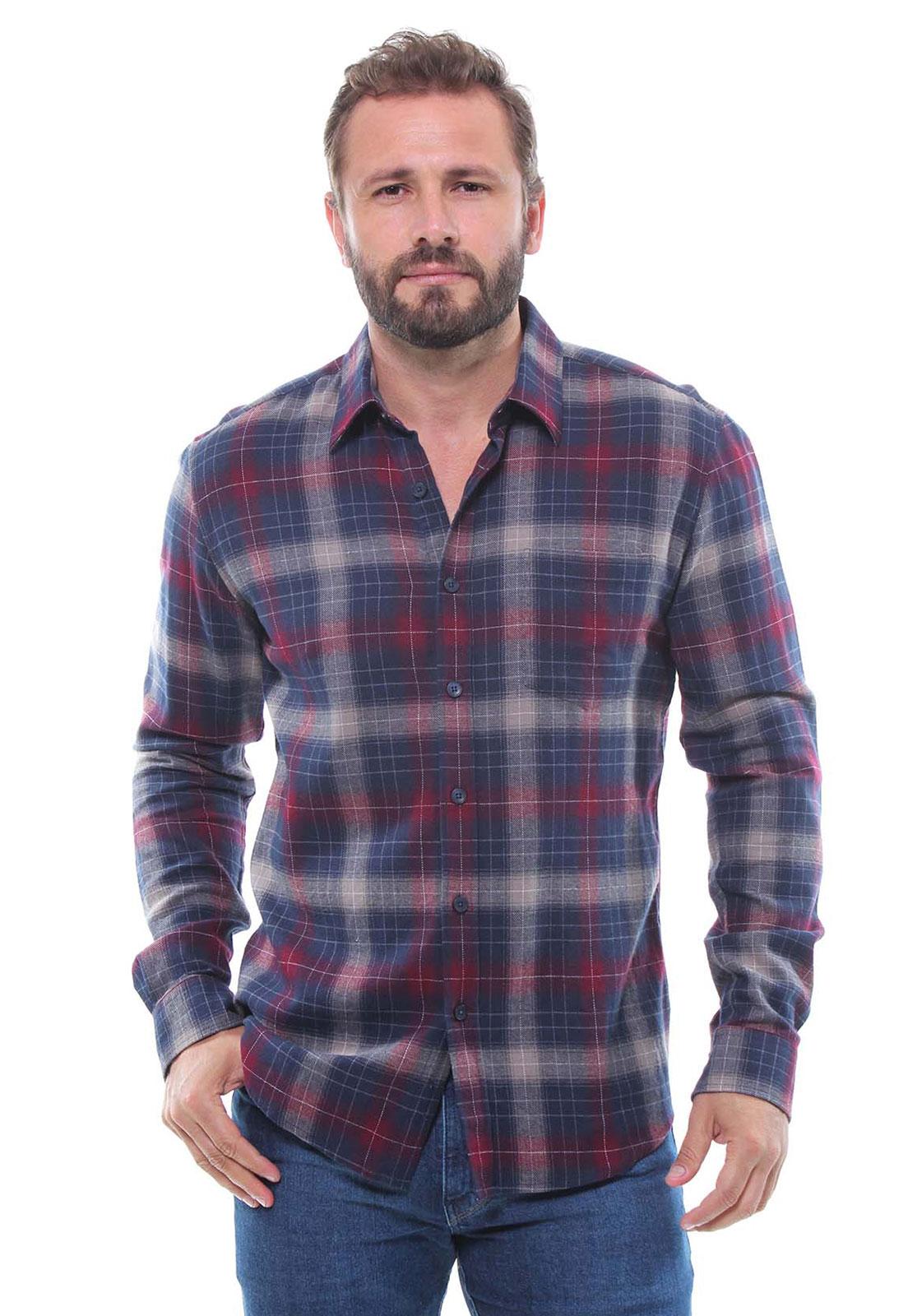 Camisa Xadrez Masculina Flanelada Manga Longa Crocker - 47346  - CROCKER JEANS