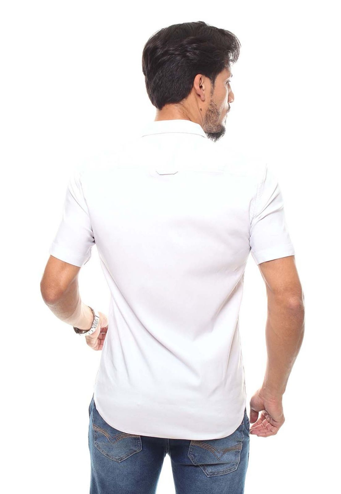 Camisa Masculina Manga Curta Crocker - 47174  - CROCKER JEANS