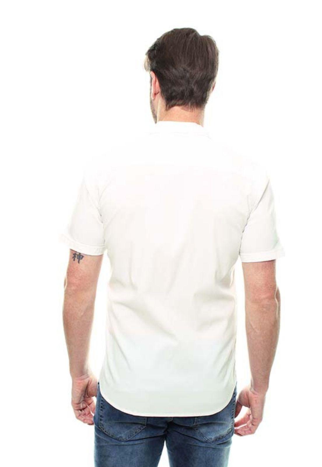 Camisa Masculina Manga Curta Crocker - 47175  - CROCKER JEANS