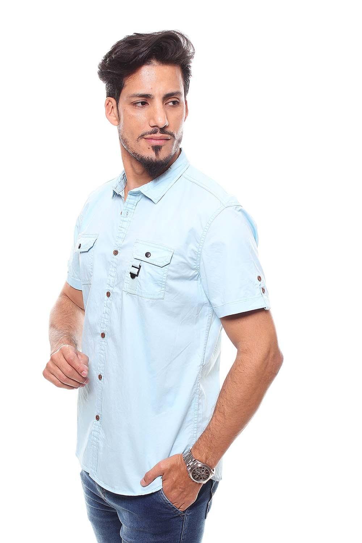 Camisa Masculina Manga Curta Crocker - 47215  - CROCKER JEANS