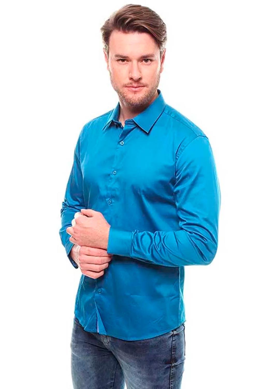 Camisa Masculina Manga Longa Crocker - 46580