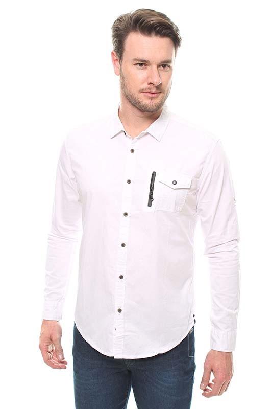 Camisa Masculina Manga Longa Crocker - 47220