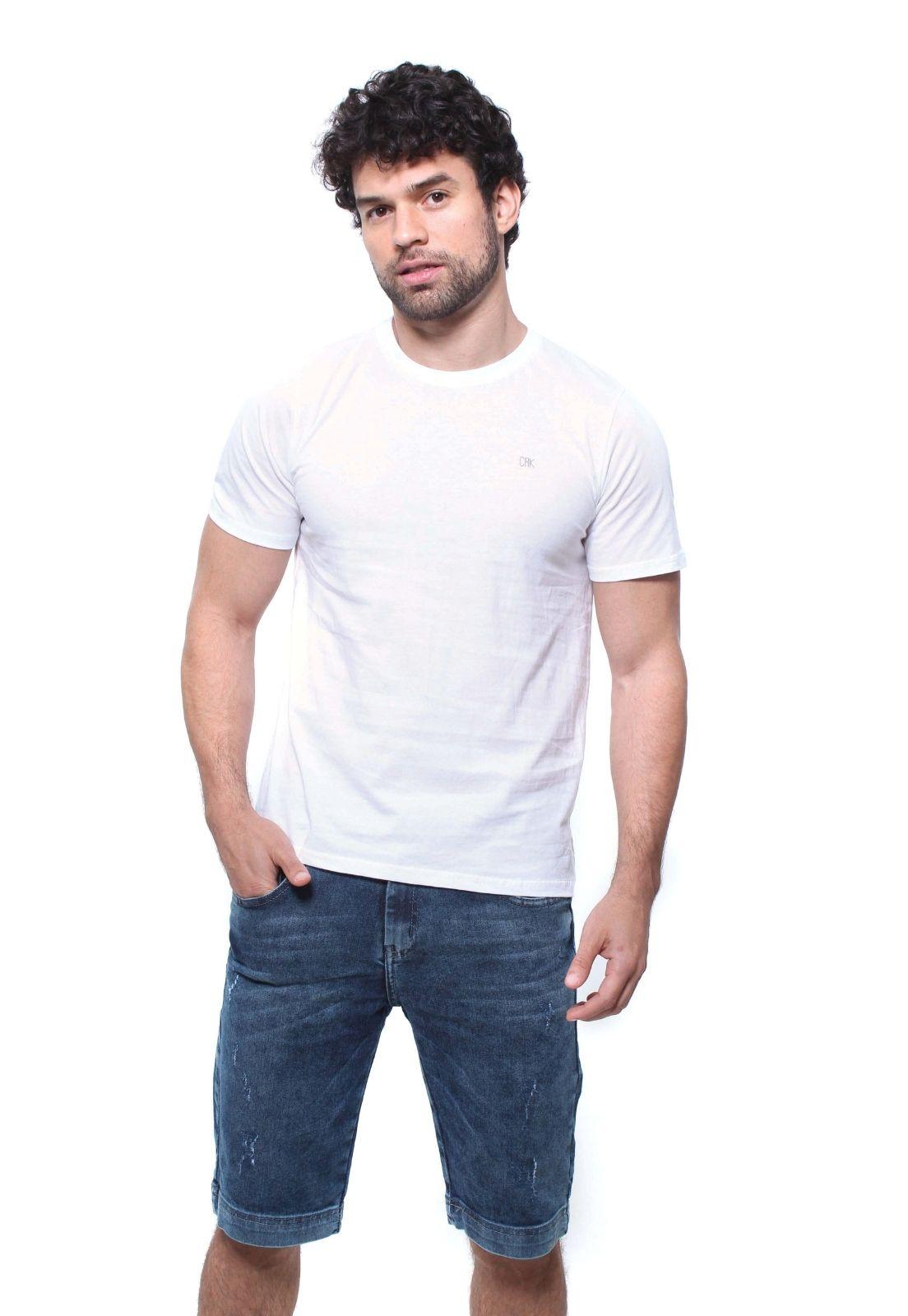 Camiseta Boylook Masculina Manga Curta Crocker - 47999  - CROCKER JEANS