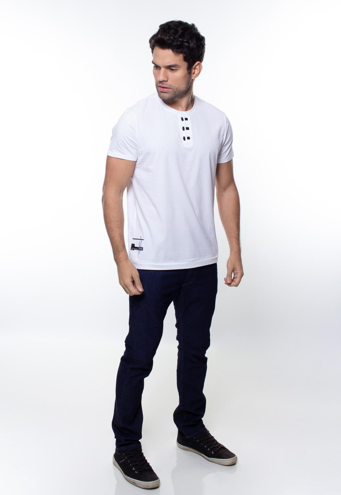 Camiseta Masculina Manga Curta Crocker - 47846  - CROCKER JEANS