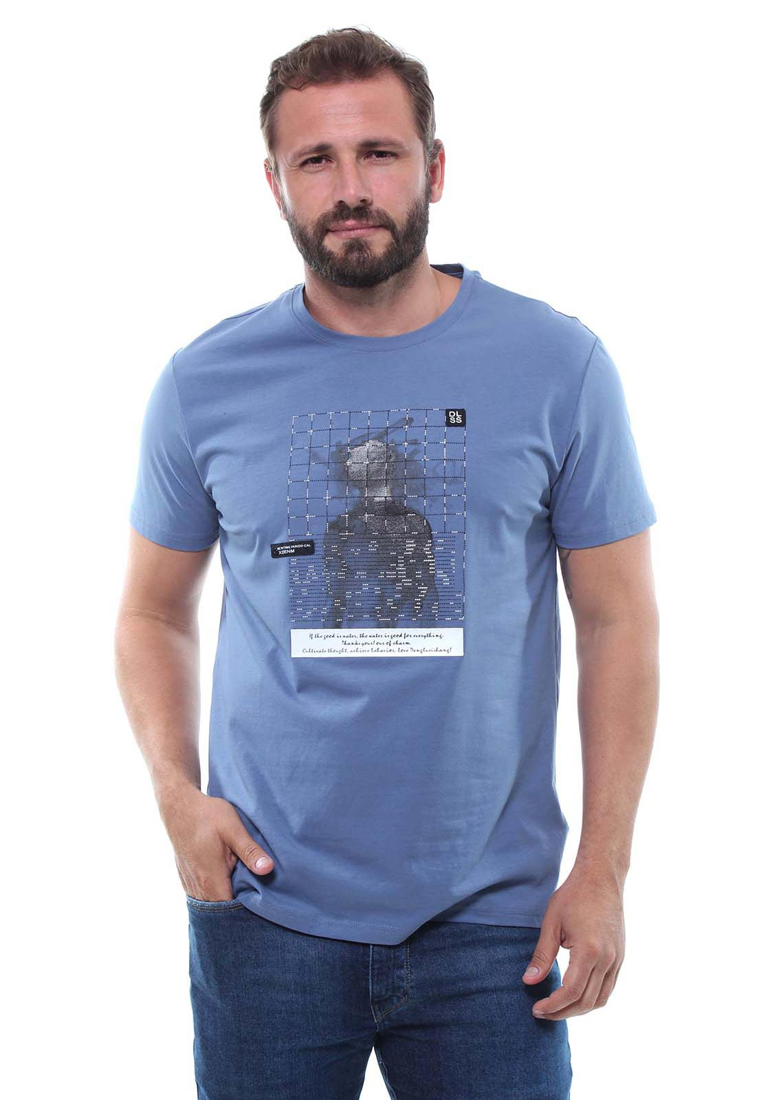 Camiseta Masculina Manga Curta Crocker - 47849  - CROCKER JEANS