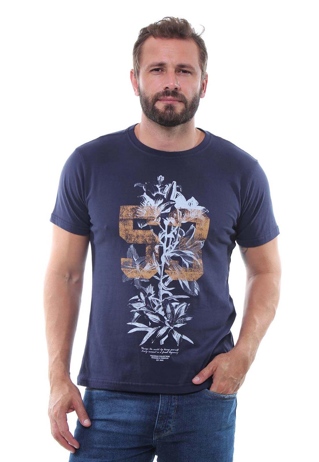 Camiseta Masculina Manga Curta Crocker - 47991  - CROCKER JEANS