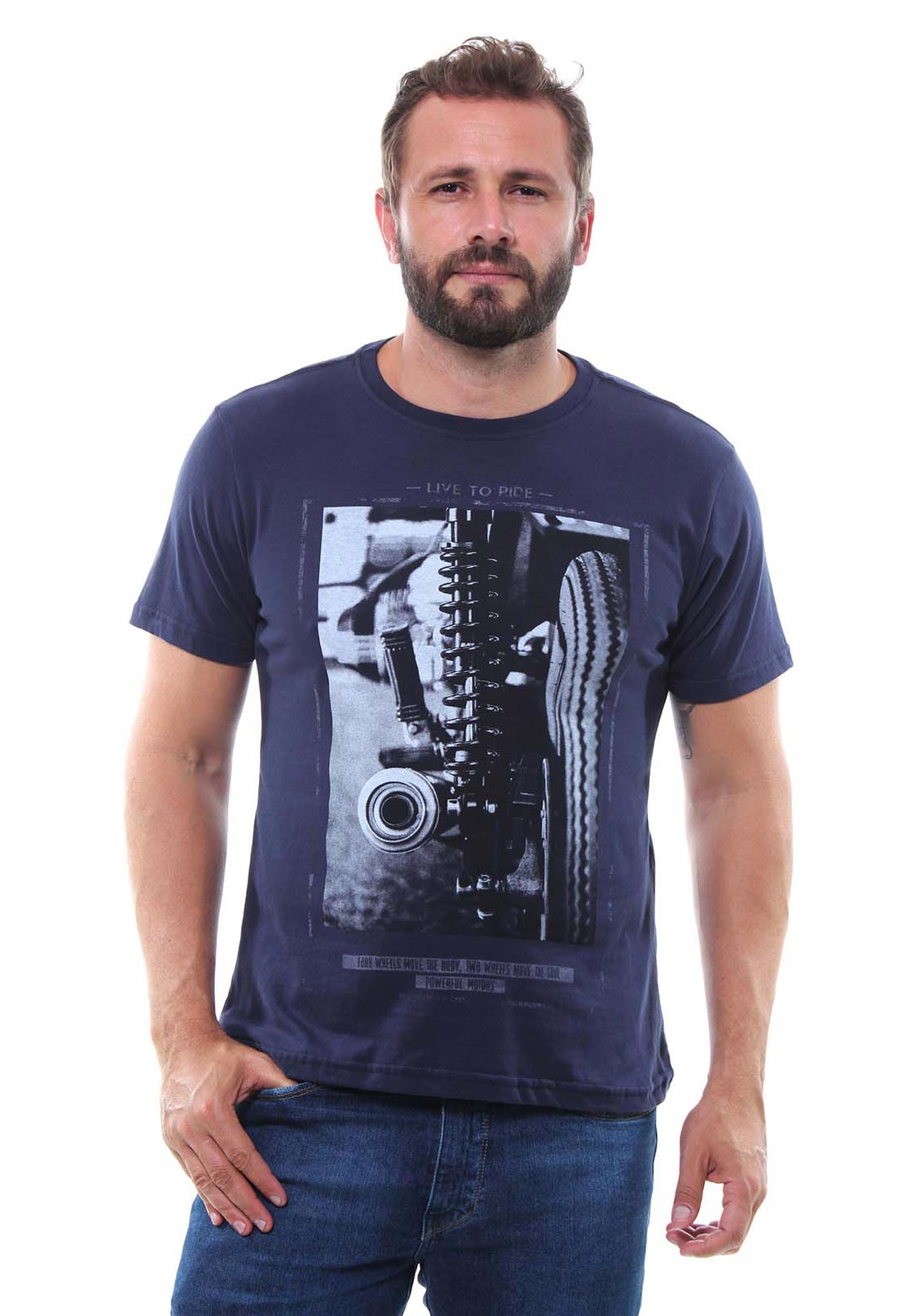Camiseta Masculina Manga Curta Crocker - 47996  - CROCKER JEANS