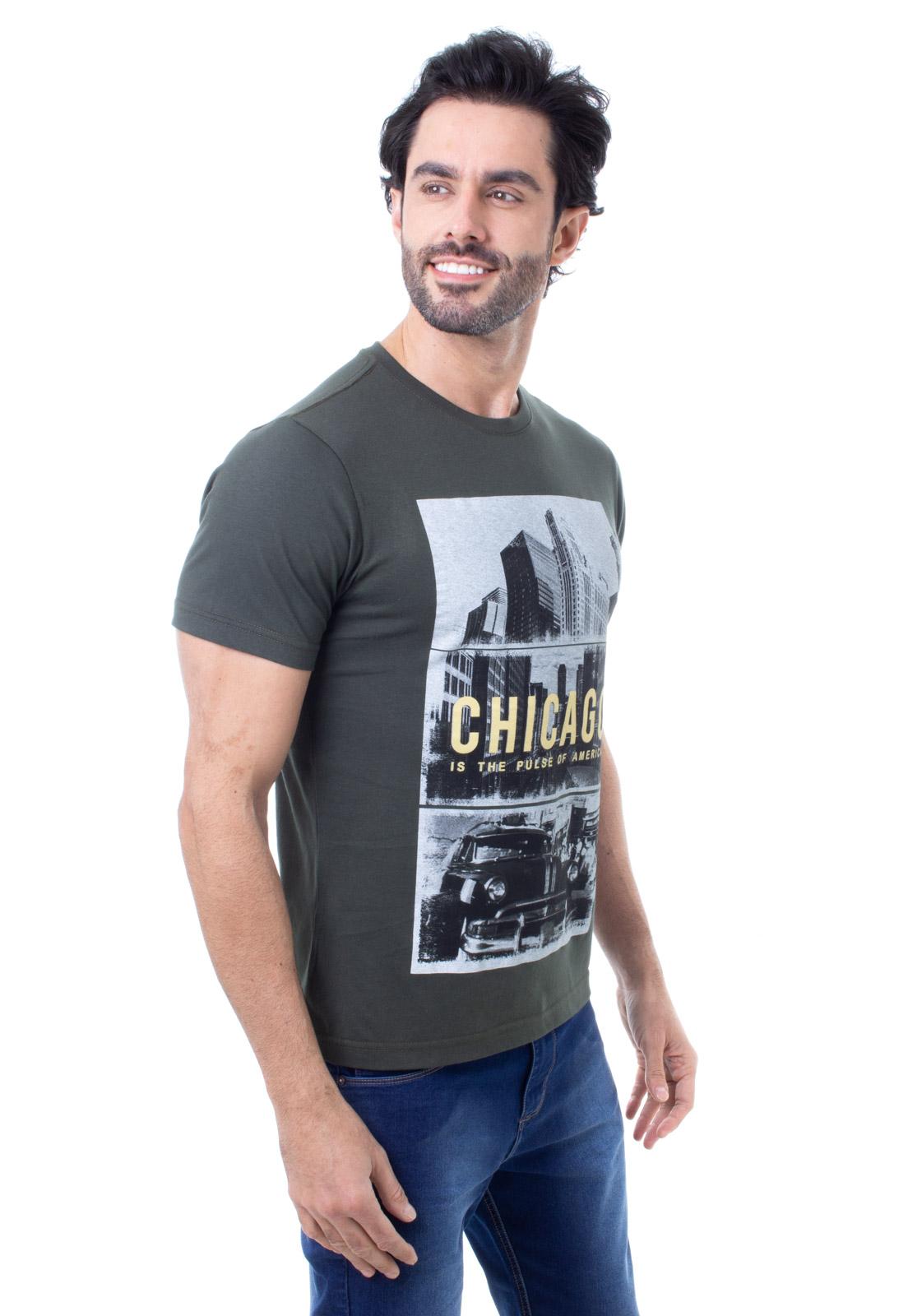 Camiseta Masculina Manga Curta Crocker - 48249  - CROCKER JEANS