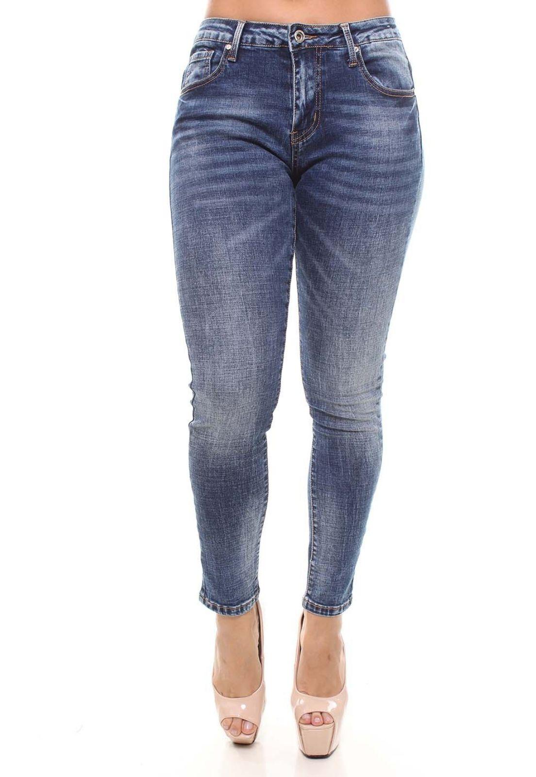Cigarrete Jeans Feminina Crocker - 46393  - CROCKER JEANS