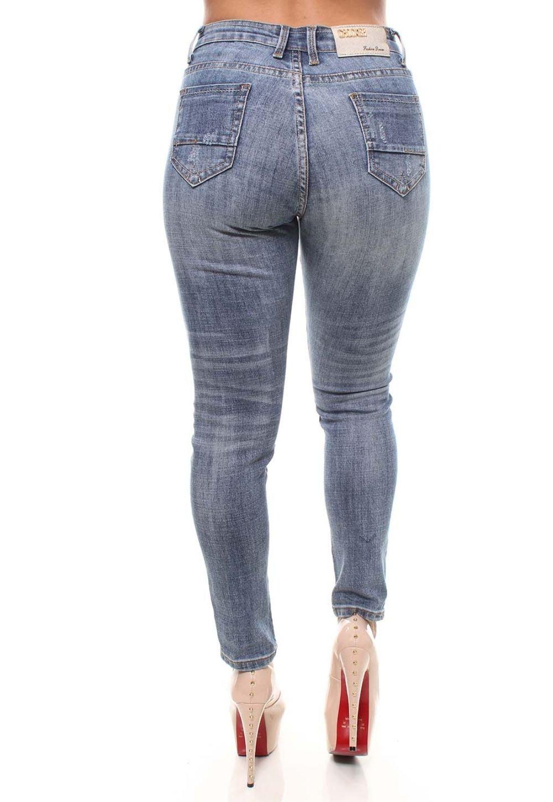 Cigarrete Jeans Feminina Crocker - 46395  - CROCKER JEANS