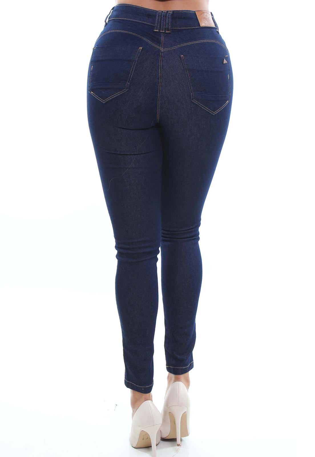 Cigarrete  Jeans Feminina Crocker - 48039  - CROCKER JEANS