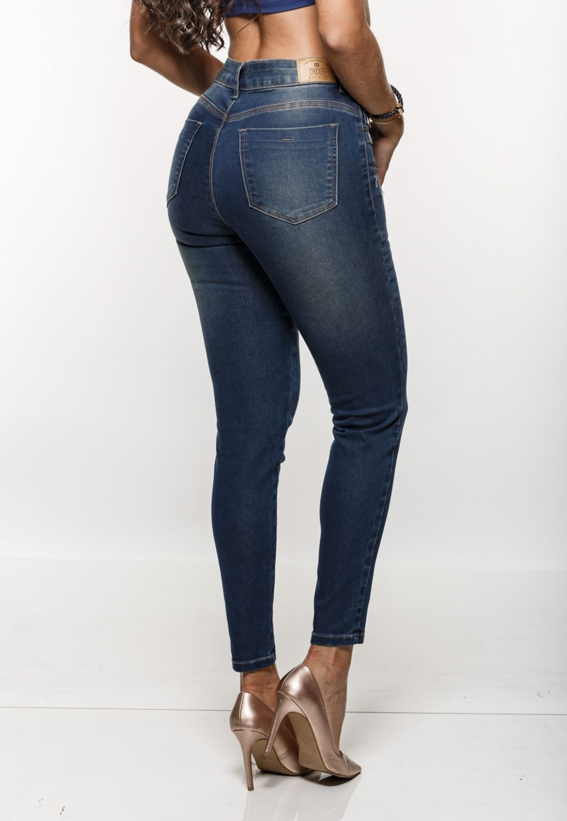 Cigarrete Jeans Feminina Crocker - 48104  - CROCKER JEANS
