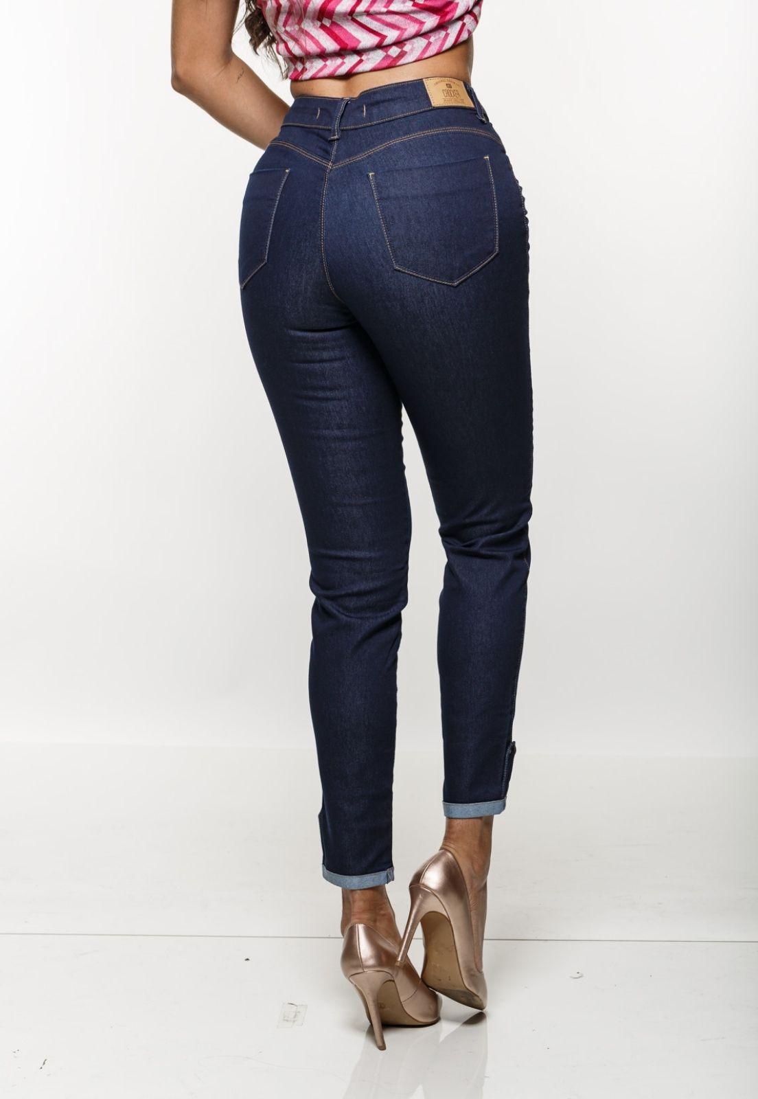 Cigarrete  Jeans Feminina Crocker - 48120  - CROCKER JEANS
