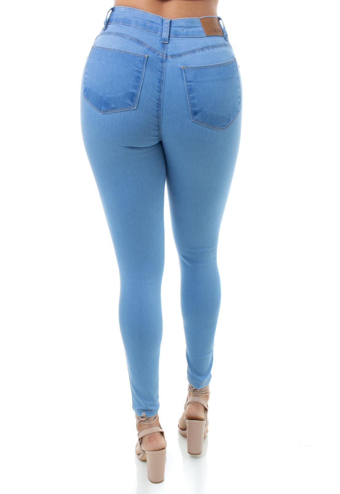Cigarrete  Jeans Feminina Crocker - 48224  - CROCKER JEANS