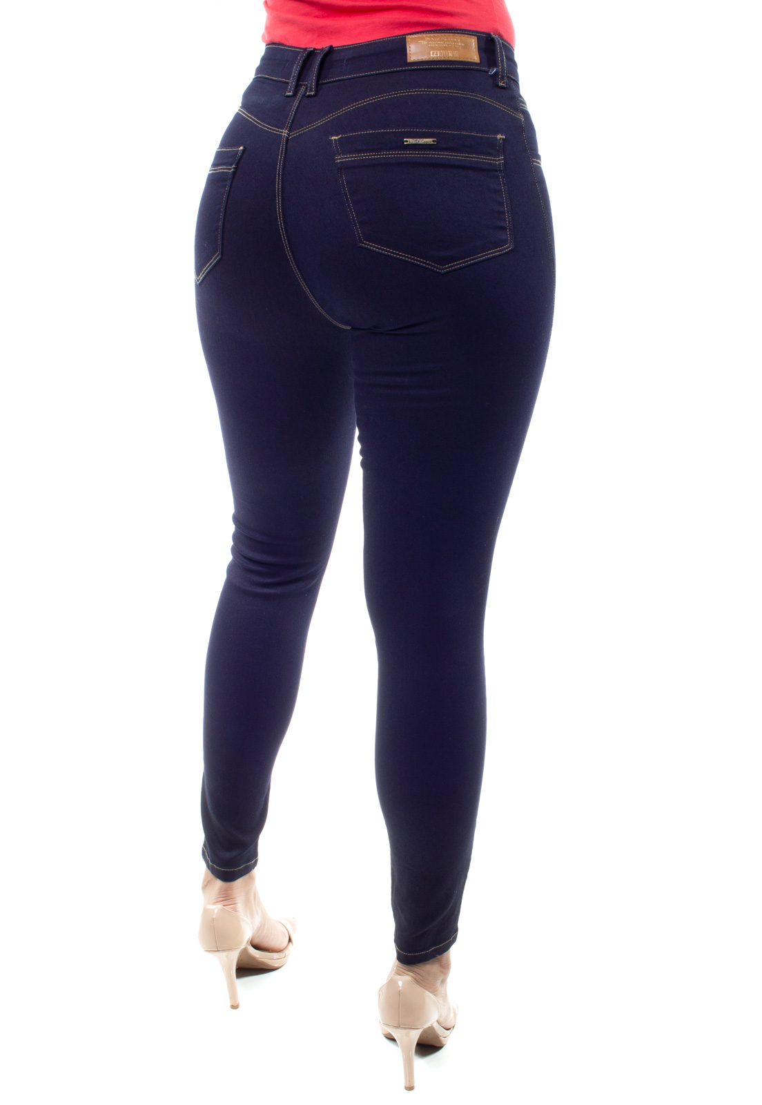 Cigarrete  Jeans Feminina Crocker - 48386  - CROCKER JEANS