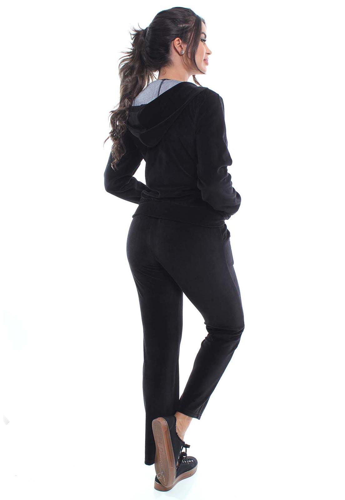 Conjunto Plush Feminino Com Capuz Crocker - 47907  - CROCKER JEANS