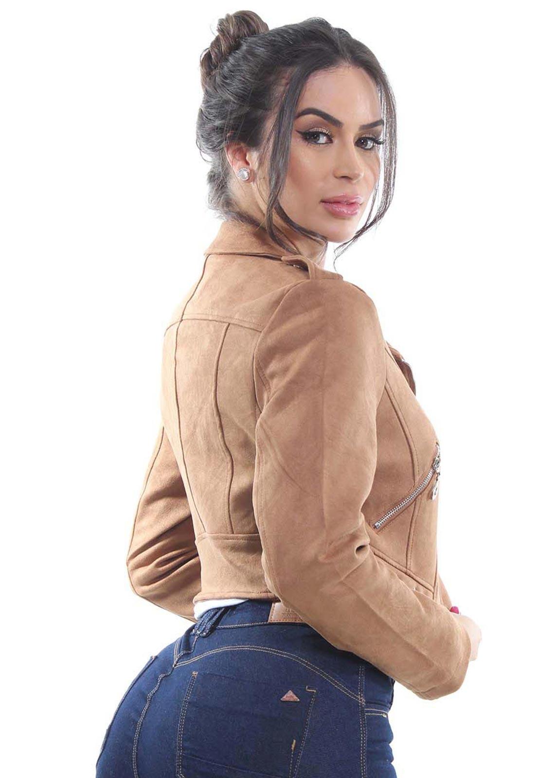 Jaqueta Cropped Feminina Crocker - 46910  - CROCKER JEANS