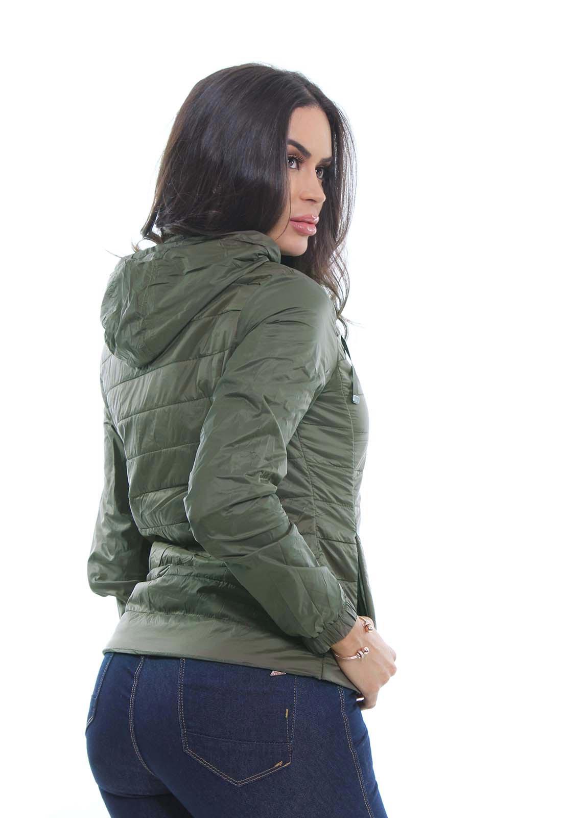 Jaqueta Feminina Com Capuz Crocker - 47454  - CROCKER JEANS