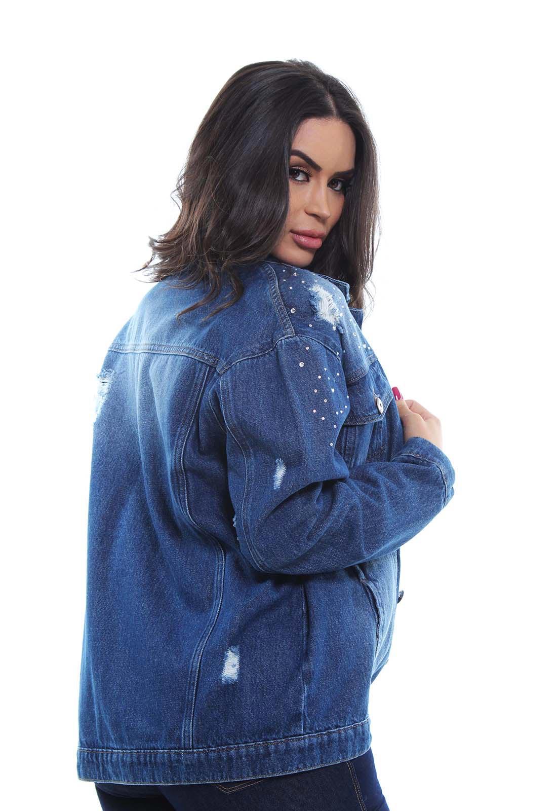 Jaqueta Jeans Feminina Crocker - 47653  - CROCKER JEANS