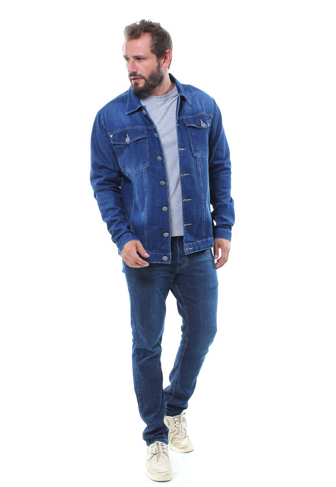 Jaqueta Jeans Masculina Crocker - 47663  - CROCKER JEANS