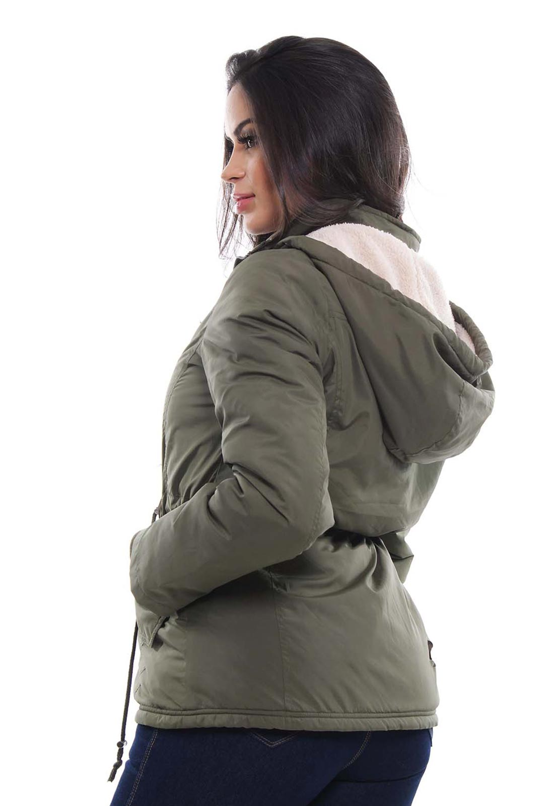 Jaqueta Parka Feminina com Capuz Crocker - 47795  - CROCKER JEANS