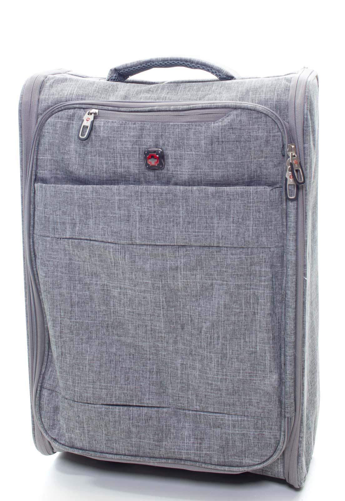 Mala De Bordo 10 kg de Viagem Pequena Dobrável Swiss Global Bag - 47623  - CROCKER JEANS