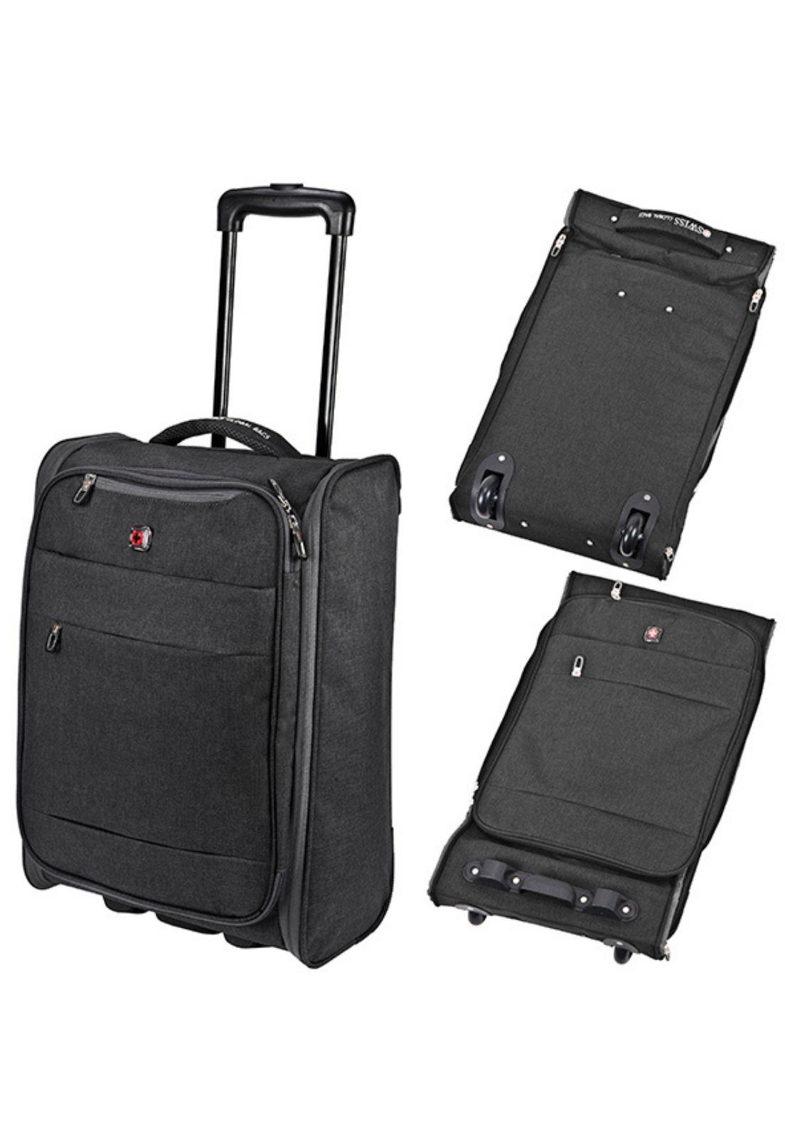 Mala De Viagem Dobrável Swiss Global Bag - 47623  - CROCKER JEANS