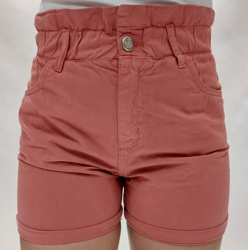 Short Feminino Hot Pant e Barra Dobrada Color Crocker - 47785  - CROCKER JEANS