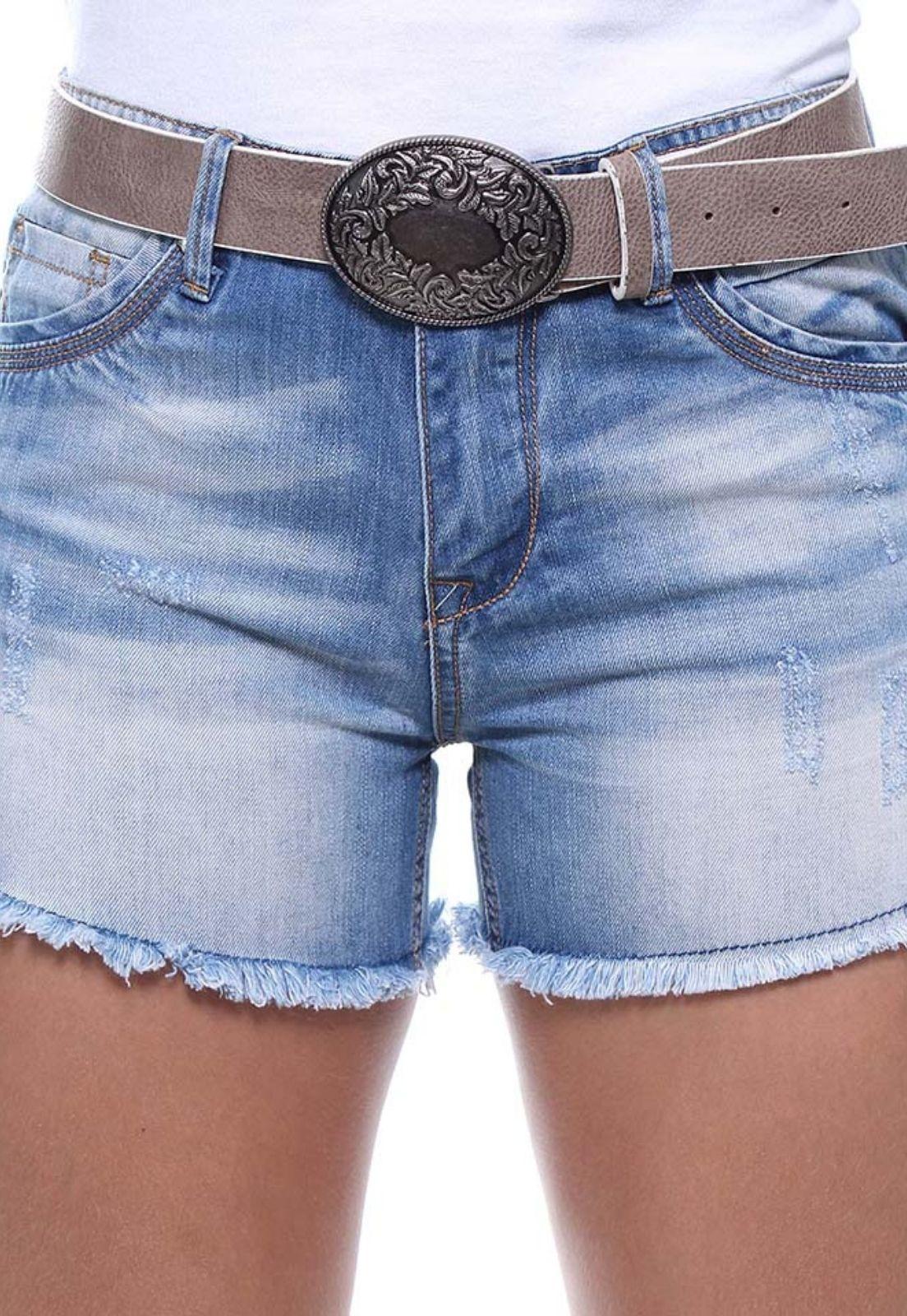 Short Jeans Feminino Boyfriend Crocker - 46431  - CROCKER JEANS