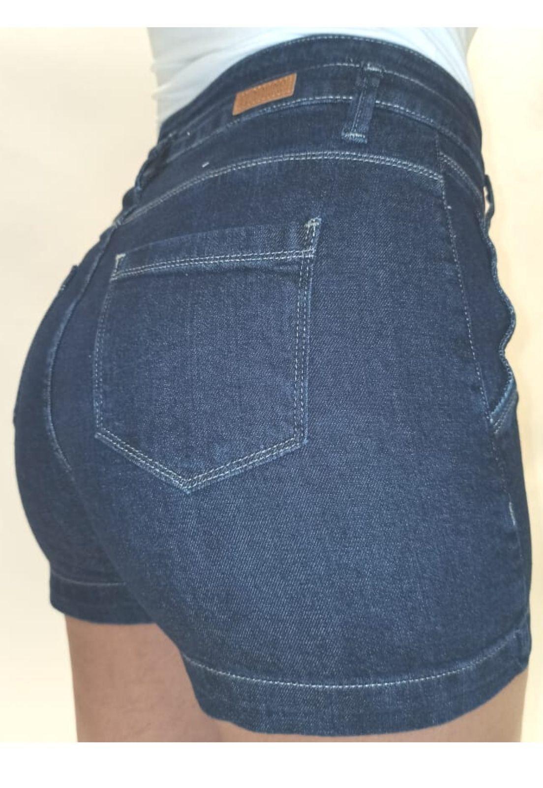Short Jeans Feminino Curto Fit Crocker - 47976