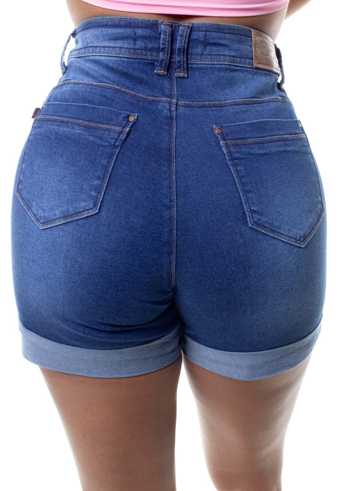 Shorts Jeans Feminino Barra Dobrada Crocker - 48300  - CROCKER JEANS
