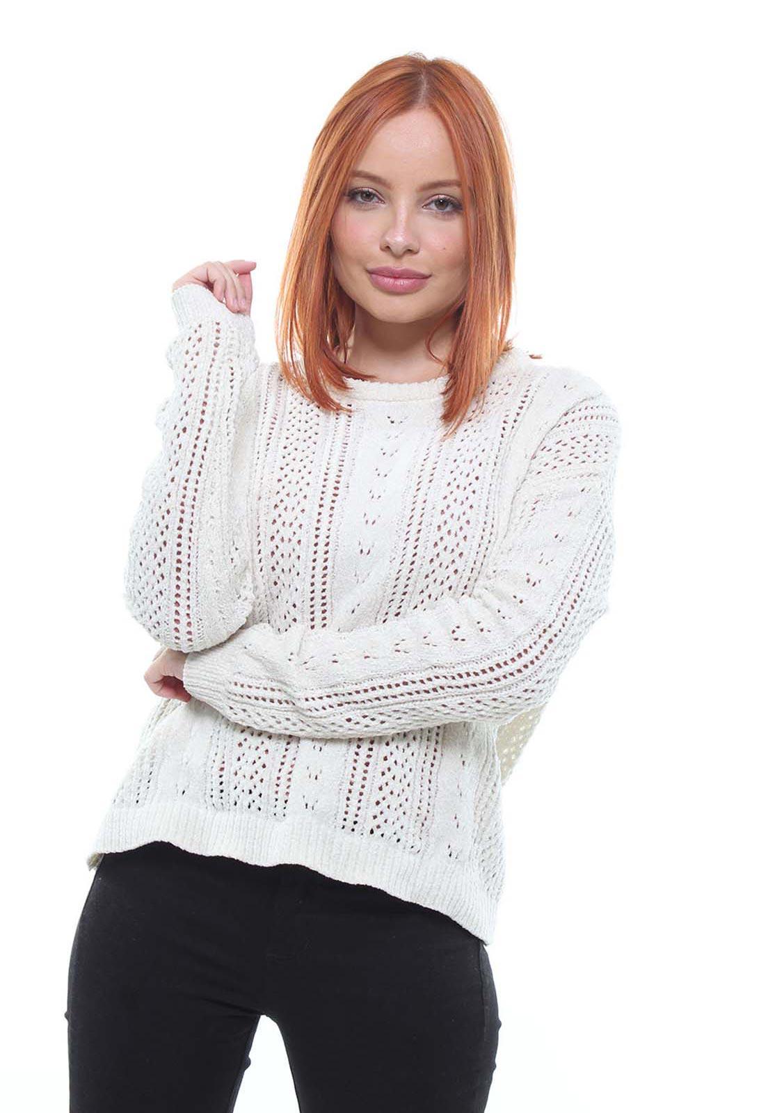 Suéter Tricot Feminino Crocker - 47383  - CROCKER JEANS