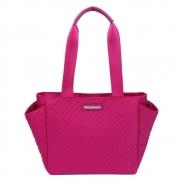 Bolsa  feminina  nylon grande pink
