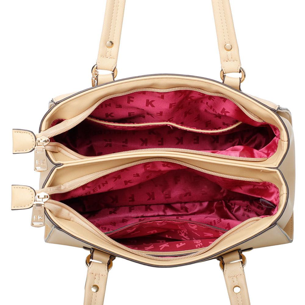Bolsa Feminina Sacola Floater com Napa Amarela
